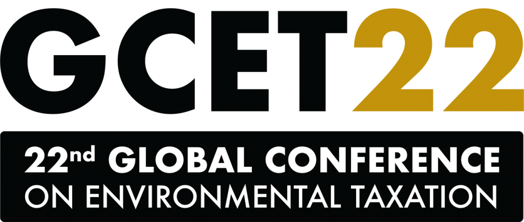 GCET22: 22nd Global Conference one Environmental Taxation
